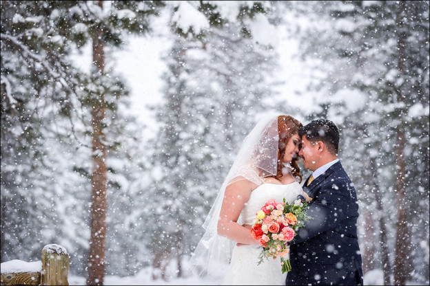 Estes Park YMCA wedding photo